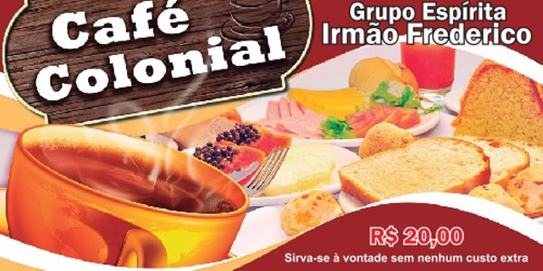 Imagem: Segundo Café Colonial do GEIF